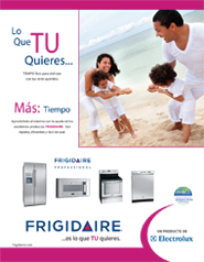 Frigidaire August Campaign
